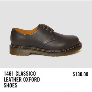 Dr. Martens 1461 Classico Leather Oxford Shoes
